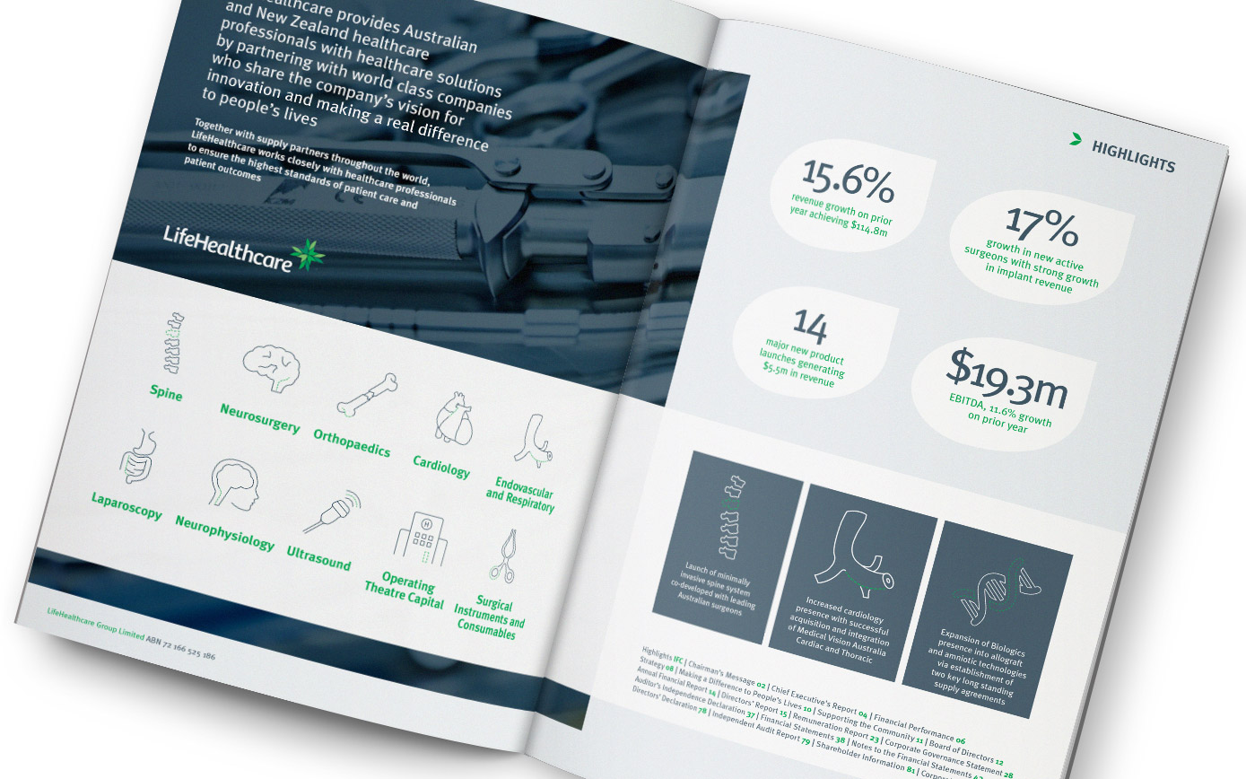 LifehealthCare Annual Report 2016
