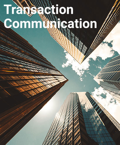 Transaction Communication
