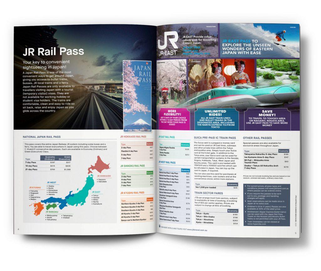 JTB Travel Winter Brochure