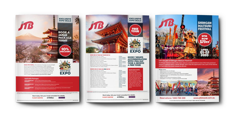JTB Travel advertising series