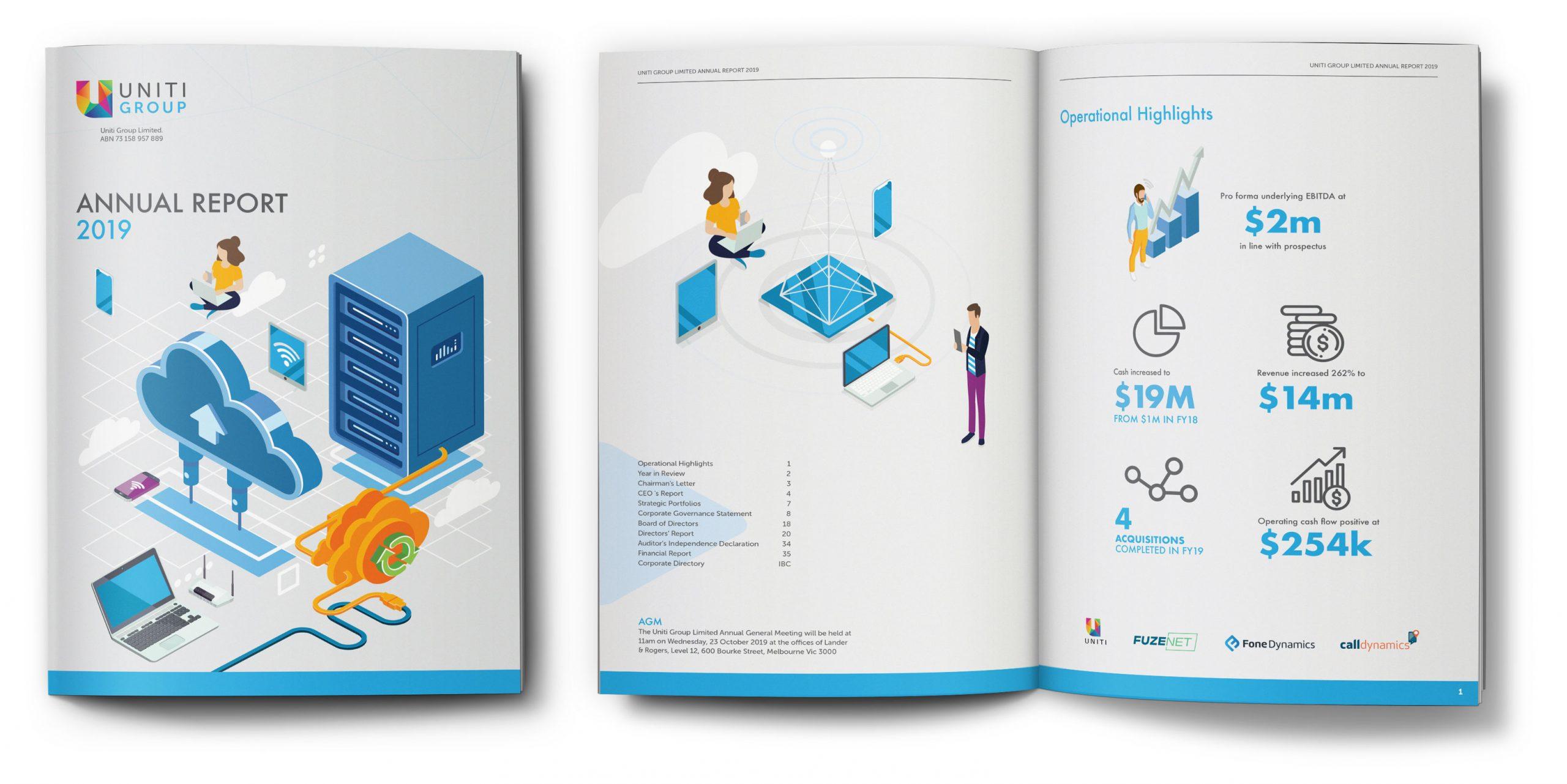 Uniti Group Annual Report 2019