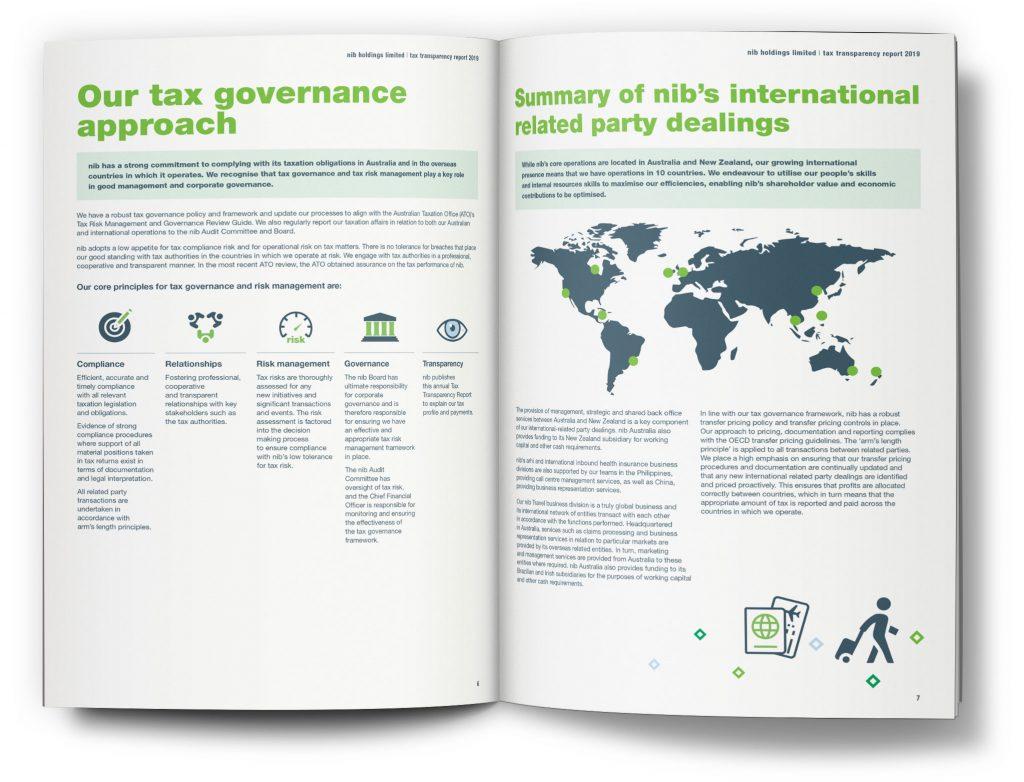 nib Tax Transparency Report 2019